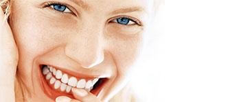 Sorriso con denti sani